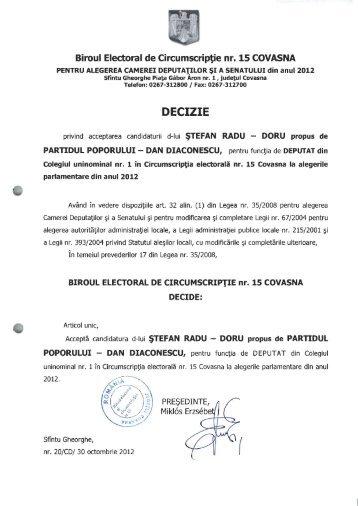 candidati-pp-dd - Prefectura Judeţului Covasna