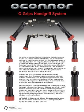 O-Grips Handgriff System - OConnor