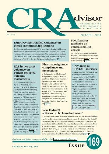 CQA redesign - Canary Ltd