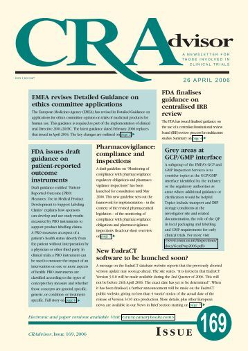 CQA redesign - Canary Ltd