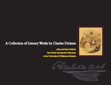 Dickens brochure - University of Oklahoma Libraries