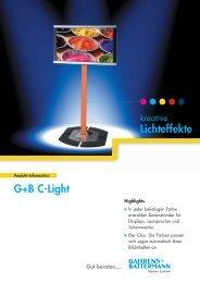 G+B C-Light Lichteffekte - Gahrens + Battermann