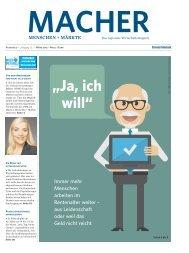 MACHER - Ausgabe 02/2015