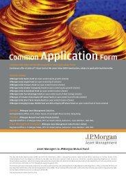 Application - JP Morgan Asset Management