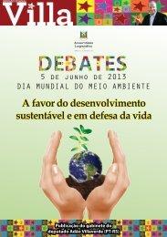 A favor do desenvolvimento sustentável e em ... - Adão Villaverde