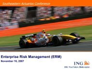 Enterprise Risk Management - Actuary.com