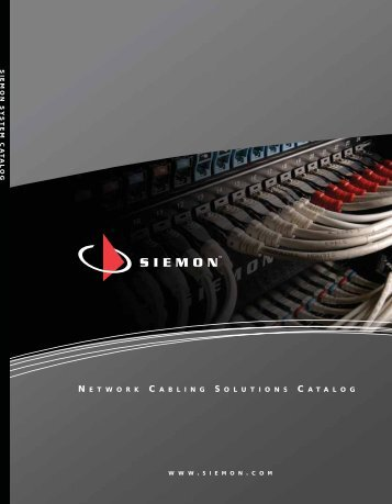 SIEMON SYSTEM CATALOG