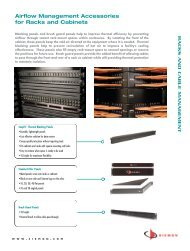 Airflow Management Accessories for Racks and Cabinets - Siemon