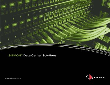 SIEMON™ Data Center Solutions