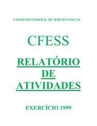 Relatório de Atividades CFESS - 1999