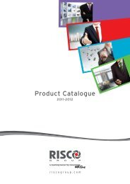 RISCO Group Product Catalogue 2011-12
