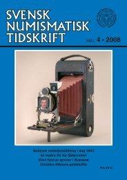 MAJ 4 • 2008 - Svenska Numismatiska Föreningen
