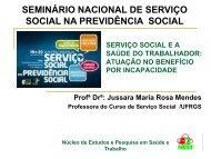 Baixe a apresentação em slides de Jussara - CFESS