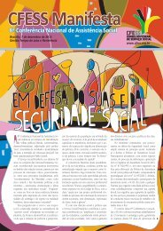 CFESS Manifesta 8ª Conferência Nacional de Assistência Social