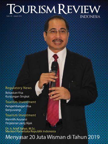 Tourism Review - Edisi Januari