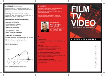 FILM TV VIDEO - Hans Lydiksen