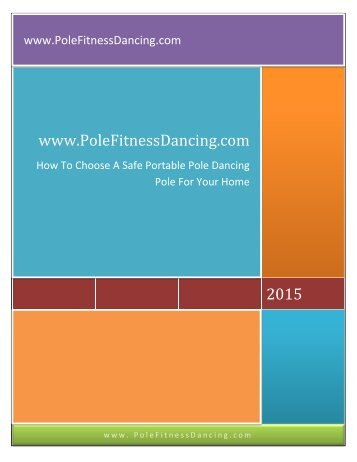 Removable or Portable Pole Dancing Pole - Dance Pole For Fitness