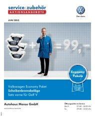 Economy Pakete - Autohaus Mense