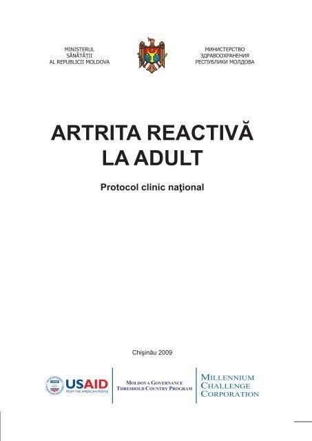 Protocol clinic national artrita reumatoida
