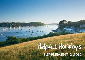 Supplement 2 2012 - Helpful Holidays