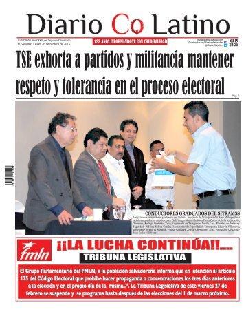 Edición 26 de Febrero de 2015