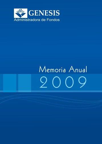 Memoria Anual - Genesis SA
