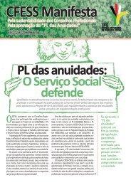 PL das anuidades: O Serviço Social defende - CFESS