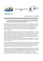 Comunicato stampa N.6 del 19 Giugno 2010 - Bracciano Sailing ...