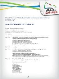 28 de setembro de 2013 - sábado - 66 Congresso Brasileiro de ...