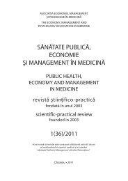 1(36)/2011 - Şcoala de Management în Sănătate Publică