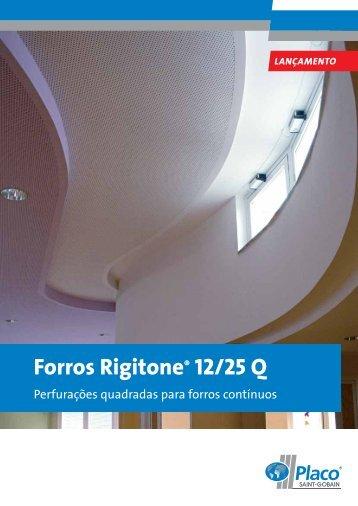 Forros Rigitone® 12/25 Q - Placo