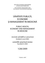 1(28)/2009 - Şcoala de Management în Sănătate Publică