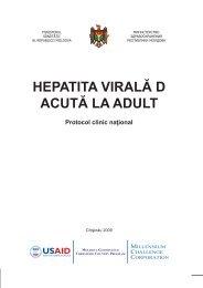 HEPATITA VIRALĂ D ACUTĂ LA ADULT - Ministerul Sănătăţii