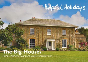 The Big Houses - Helpful Holidays