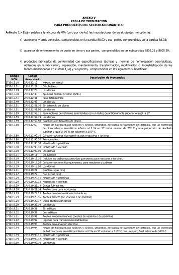 ANEXO V - Legis Comex