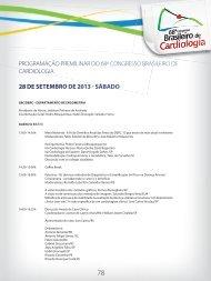 28 de setembro 2013 - 66 Congresso Brasileiro de Cardiologia