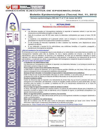Resistencia a los antimicrobianos (RAM) - Direccion Regional de ...