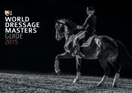 World Dressage Masters Guide 2015