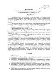 Anexa 7 - Ministerul Sănătăţii
