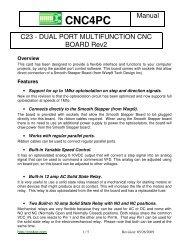 C11- MULTIFUNCTION CNC BOARD Rev  9 3 - Stepper Motor