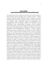 Dia 15/10/2012 - Câmara Municipal de Vereadores Santo Antônio ...