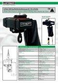 Rigging – Elektrokettenzüge Palans électriques à chaîne ... - liftket.ch - Page 6
