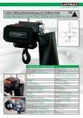 Rigging – Elektrokettenzüge Palans électriques à chaîne ... - liftket.ch - Page 7