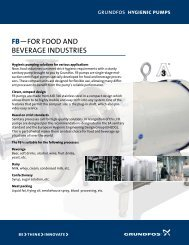FB—FOR FOOD AND BEVERAGE INDUSTRIES - RF MacDonald Co.