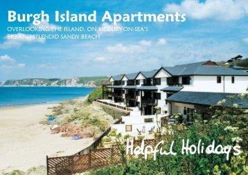 HH Burgh Island Bro 2012 v4:A5 6pp - Helpful Holidays