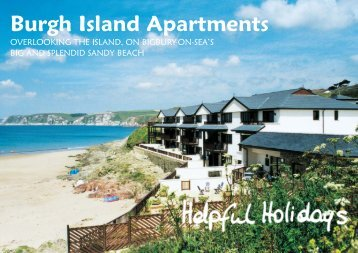 HH Burgh Island Bro 2012 v4:A5 6pp - Helpful Holidays