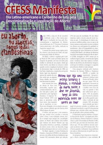 Leia o CFESS Manifesta do Dia Latino-americano