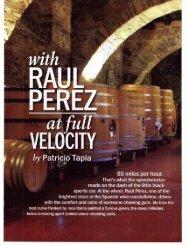 Raul Perez Featured in W&S October 2011 Issue - Cream Wine ...
