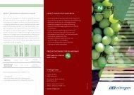 ENTEC für den Weinbau