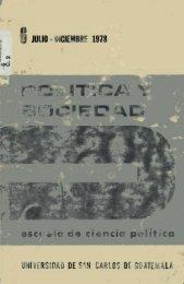 Julio - Diciembre 1978 - Centro de Documentación, Escuela de ...